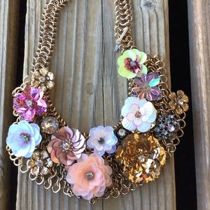 Beyond! Aldo Floral Masterpiece Statement Necklace